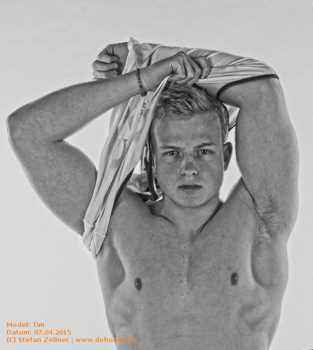 TfP-Shooting mit Model Tim